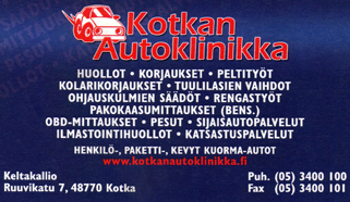 Kotkan Autoklinikka